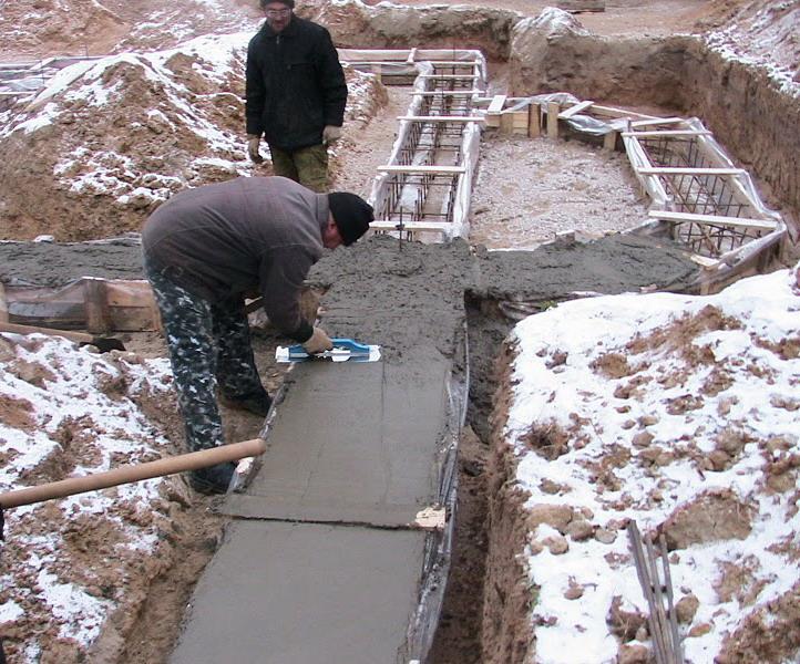 когда будет бетон